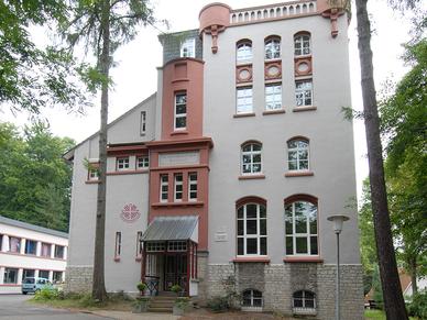 Das ehemalige Institut für Geophysik.