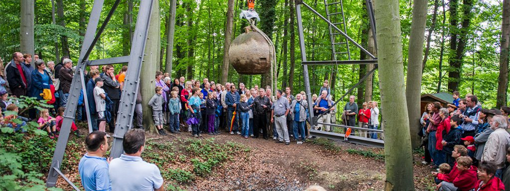 Mintrop Kugel der Wiechert'schen Erdbebenwarte Göttingen