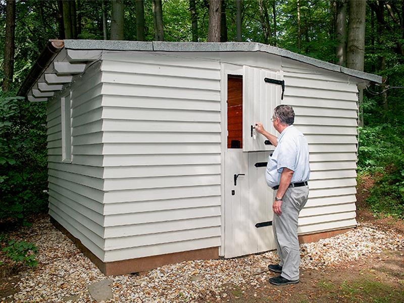 Astronomische Hütte