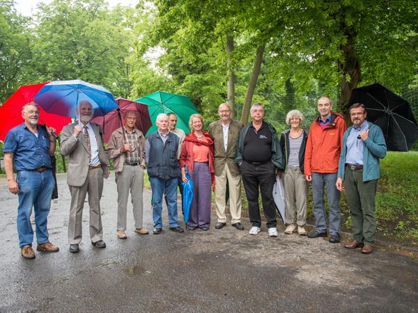 Gedenktafel erinnert an Göttinger Professor Manfred Siebert