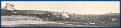 The Hainberg of Göttingen, shortly after 1900.